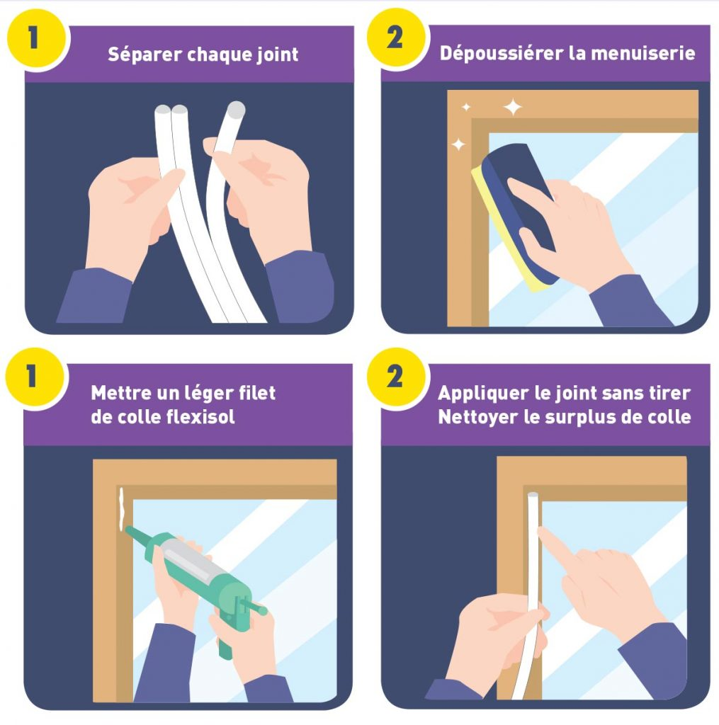 Joint de calfeutrement flexisol